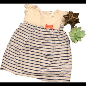 Carters baby striped dress, 24 months